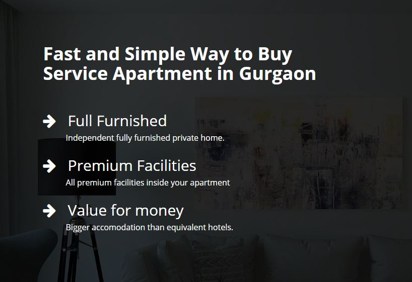 Service Apartment in Gurgaon for Rent